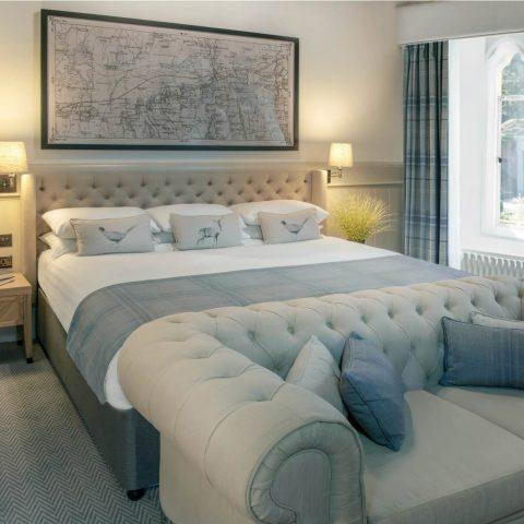 King Suite guest bedroom
