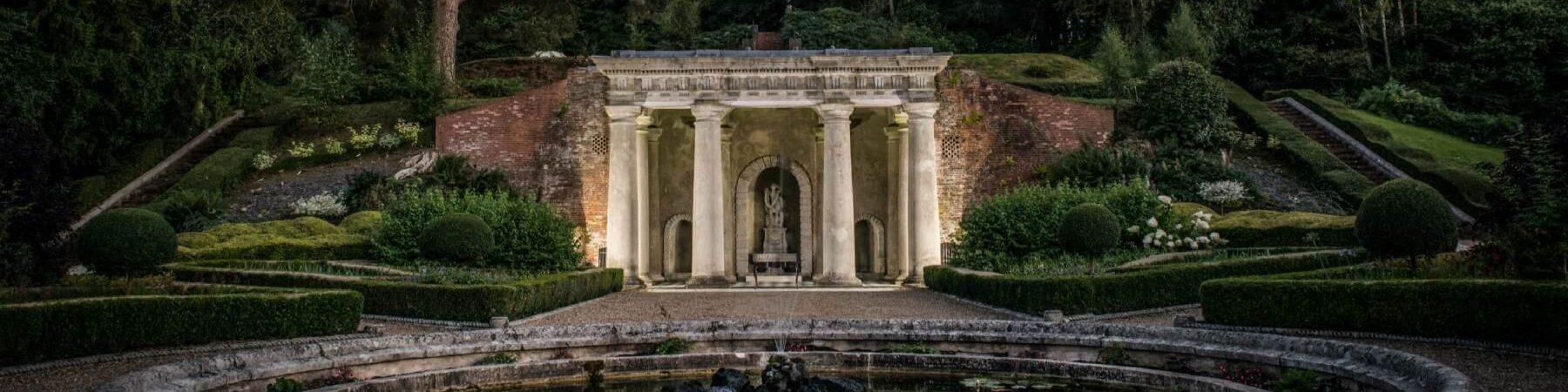 Italian Garden Exterior