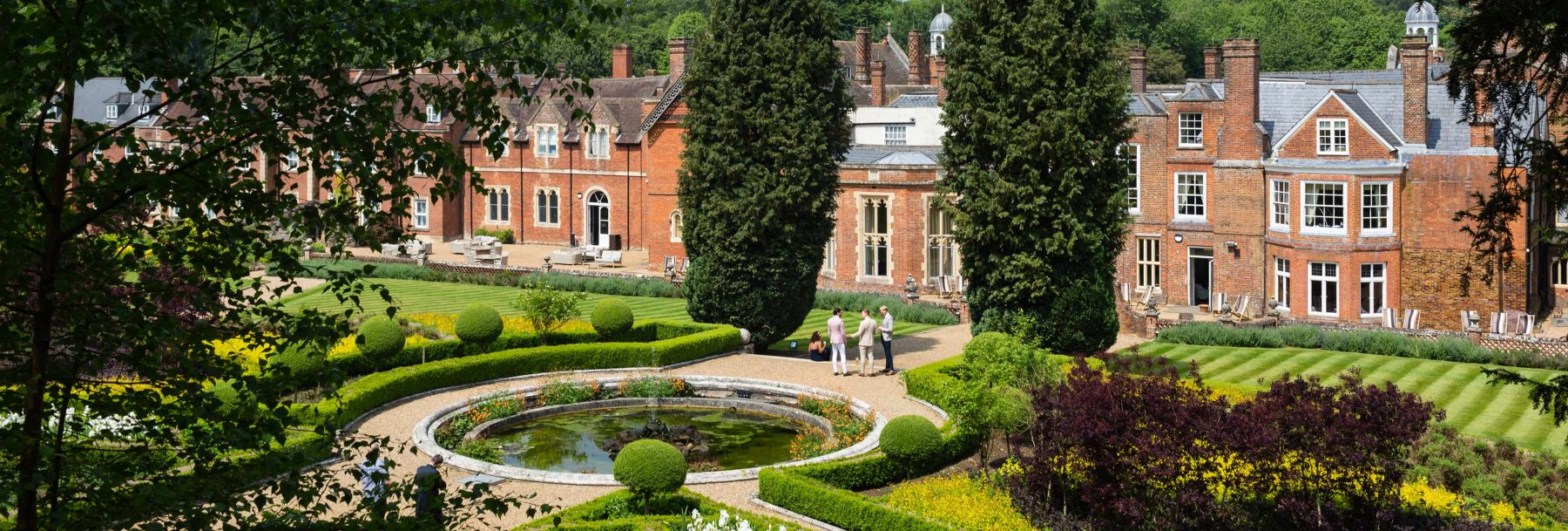 The Wotton House Italian gardens