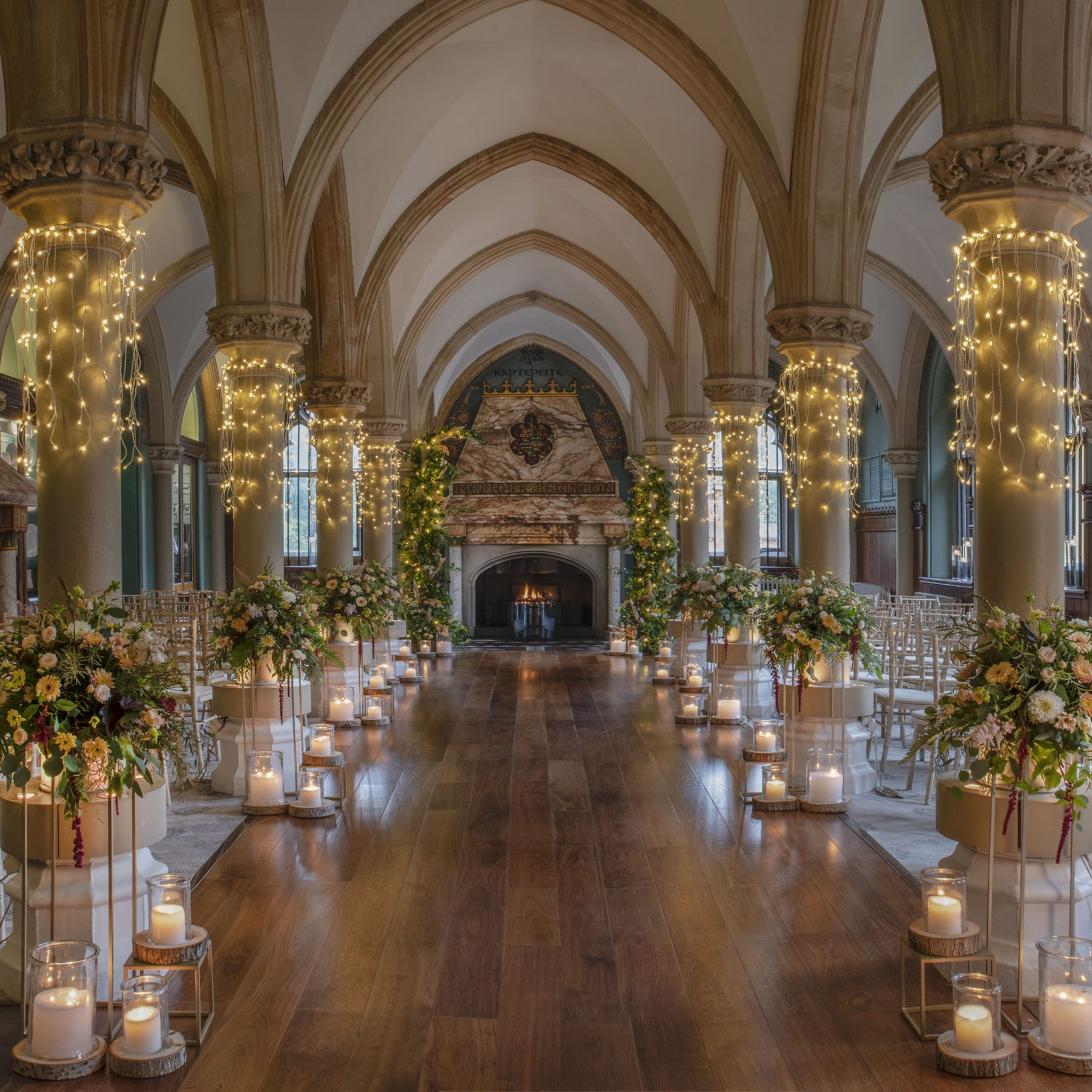 Wedding ceremony at Wotton House