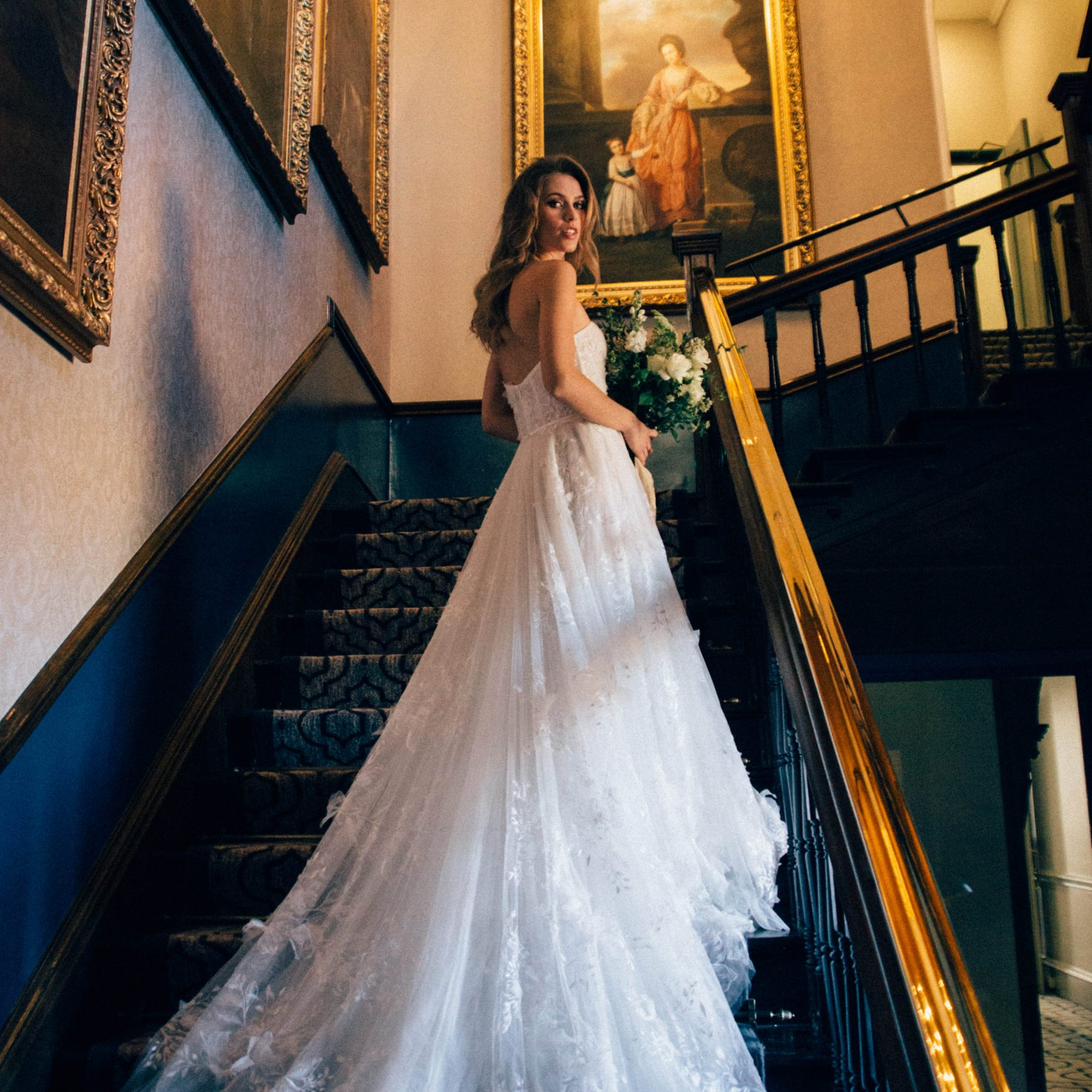 Bride at Wotton House