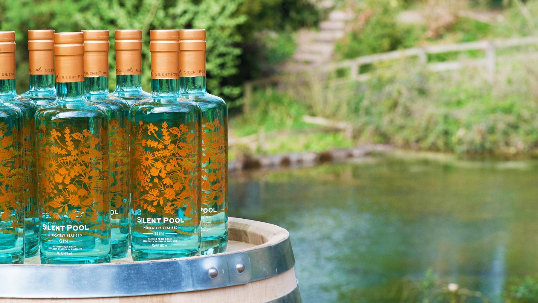 Enjoy a Silent Pool Gin tour close to the hotel