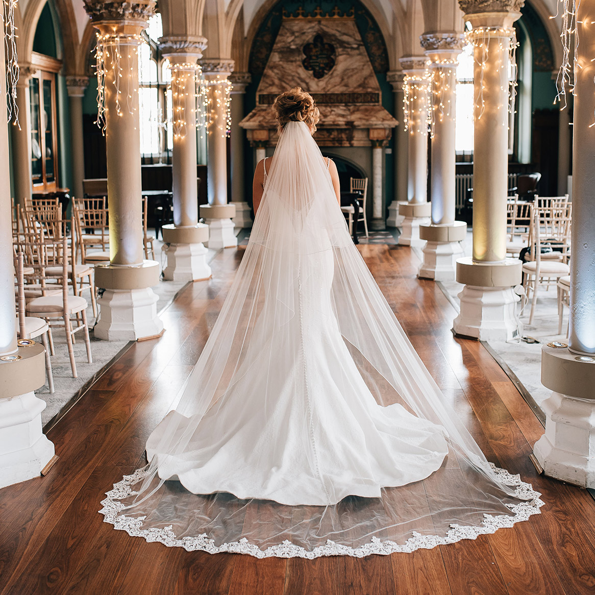Walk down the isle on your special day at Wotton House